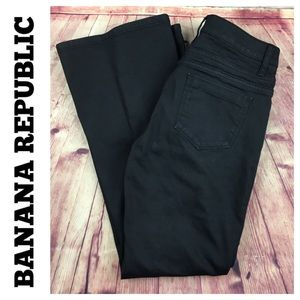 💸Banana Republic wax coated Bootcut pant size 6P